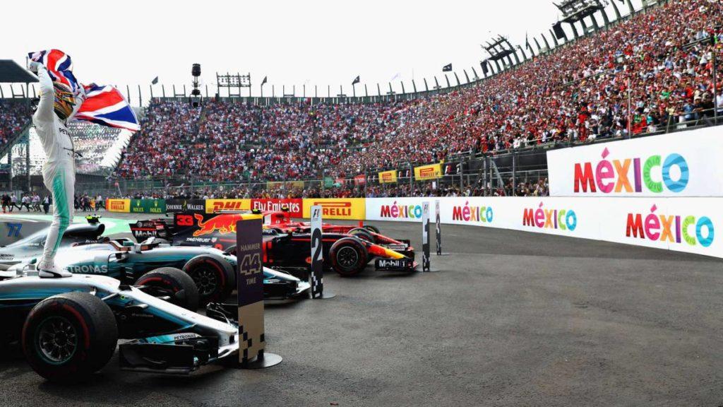 Mexico Grand Prix F1 sponsorships